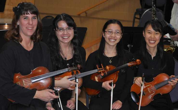 ConcertMaster w Violins